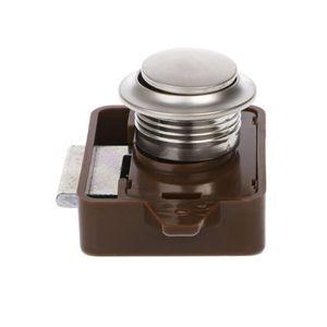 Image 5 - キャンピングカー車プッシュロック RV キャラバンボートモーターホームキャビネットの引き出しラッチボタンをロック家具ハードウェア RV パーツ & アクセサリー
