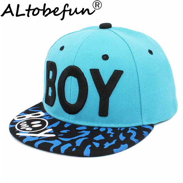 ALTOBEFUN Children Snapback Cap Spring Summer 3-8 Years Old Kid Sun-shading Boy Baseball Cap Adjustable Girl Hip Hop Hat CC904