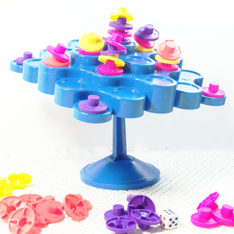 Topple Balance Puzzle Game Dont Let Topple Topple As You Try To Score Points Kids Children Family Activity Board Game