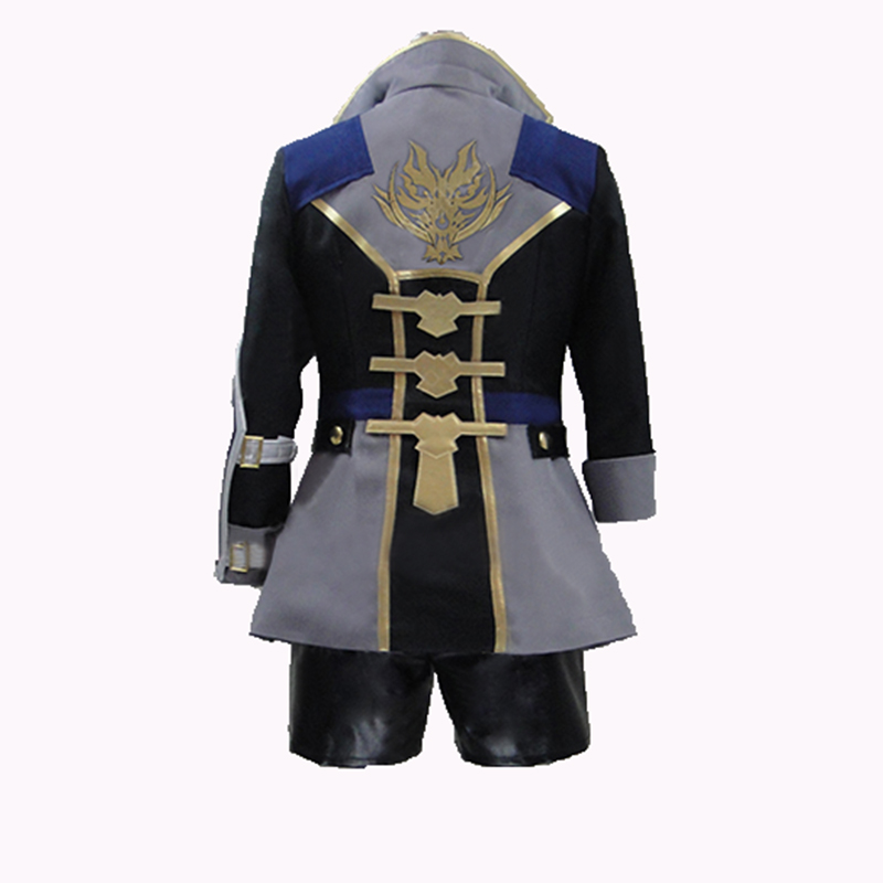 God Eater 2 Player Protagonist Cosplay Costume Halloween Uniform Outfit with gloves