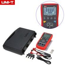 UNI-T UT611 Portátil de Mano 3 5/6 condes LCR Meter 10 KHz Inductancia Capacitancia medidor de Resistencia