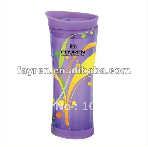 double wall plastic mug