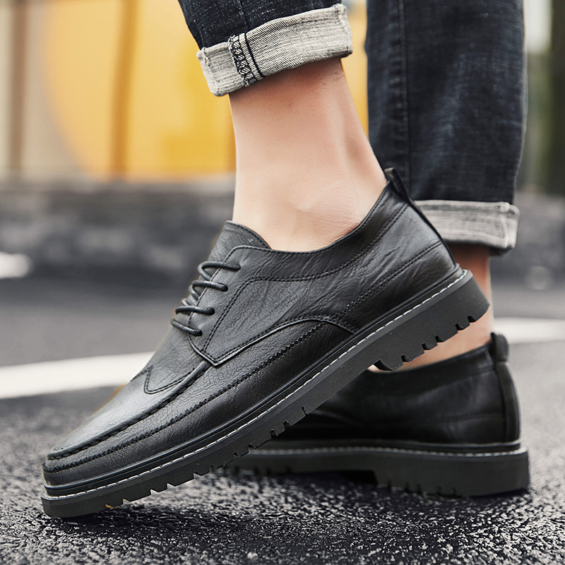 Genuine Leather Shoes Men spriong autumn Brand Footwear Non-slip outdoor Fashion Mens Casual Sneakers chaussure homme Sapato p4Genuine Leather Shoes Men spriong autumn Brand Footwear Non-slip outdoor Fashion Mens Casual Sneakers chaussure homme Sapato p4