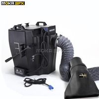 Super Power 6000w dry ice fog machine dry ice smoke machine with outlet and flight case low ground smoke machine