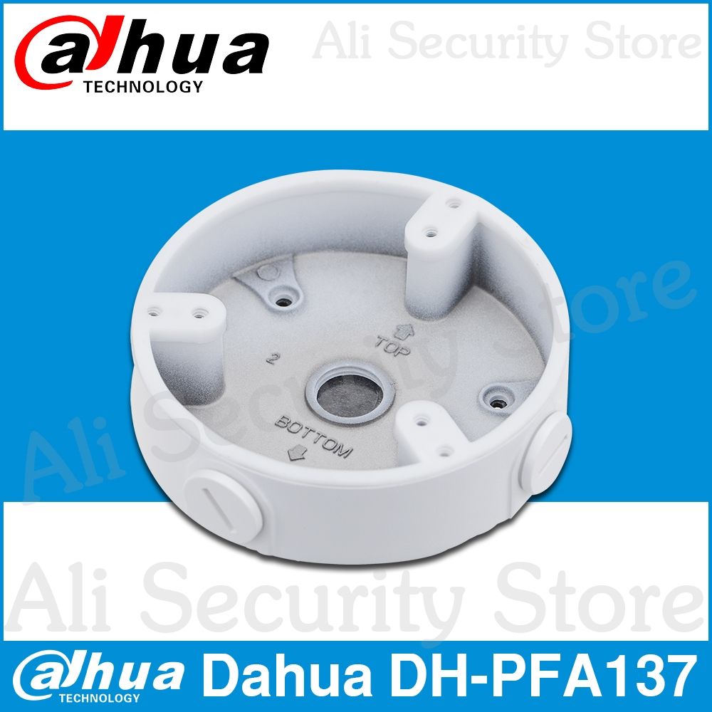 Dahua Waterproof Junction Box PFA137 For DH IP Camera IPC-HDBW4431R-S & IPC-HDBW4431R-ZS CCTV Mini Dome Camera DH-PFA137
