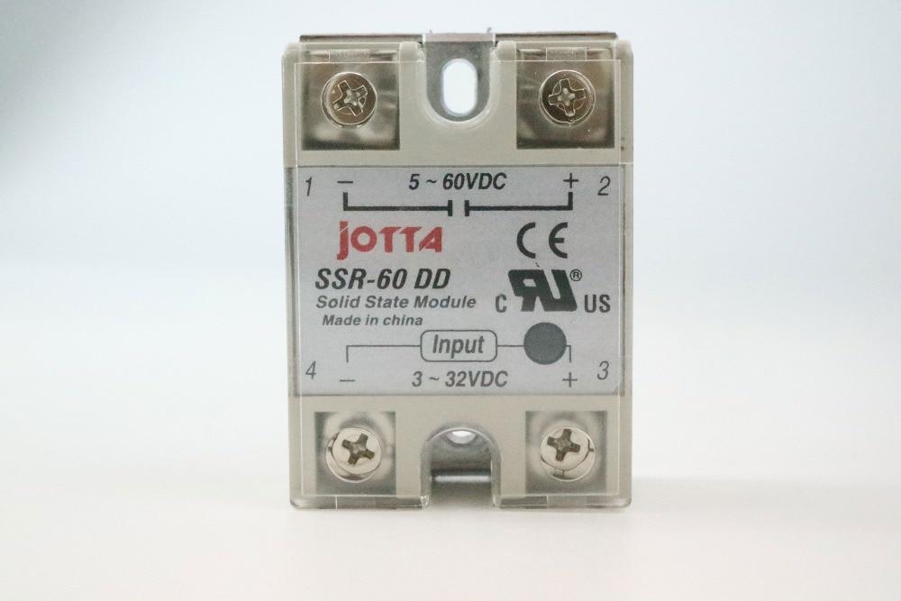 1pcs Solid State Relay SSR-60 DD DC-DC 60A 3-32VDC//5-60VDC