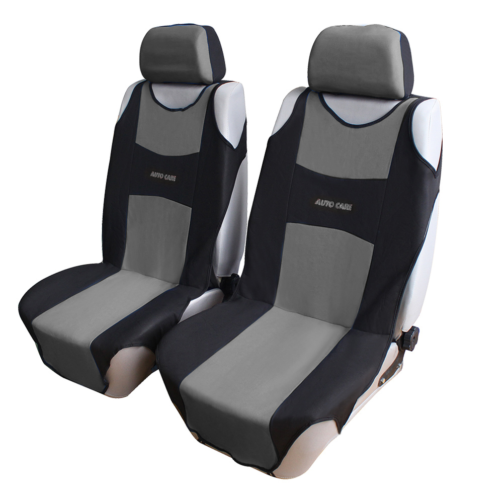 Auto Care New Arrival Front Car Seat Covers With Headrest Universal ...