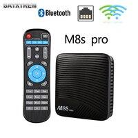 M8s Pro Tv Box Smart Android 7 1 TV Box Amlogic S912 Dual WiFi BT4 1