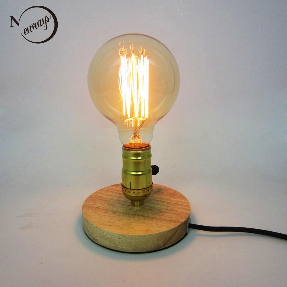 Warehouse Reading Light: Aliexpress.com : Buy Loft Industrial Vintage Nature Wood