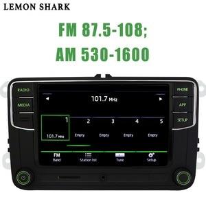 Image 5 - RCD330 בתוספת RCD330G Carplay MIB רכב רדיו Noname ירוק כפתור אור RCD 330G 6RD 035 187B 187 b עבור סקודה מעולה אוקטביה פאביה