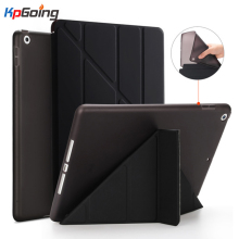 For IPad Air 2019 Case PU Leather Y Style Deformation Silicon Back Smart Cover for IPad Pro 10.5 2017 Case A1701 A5152 A2123 цена и фото