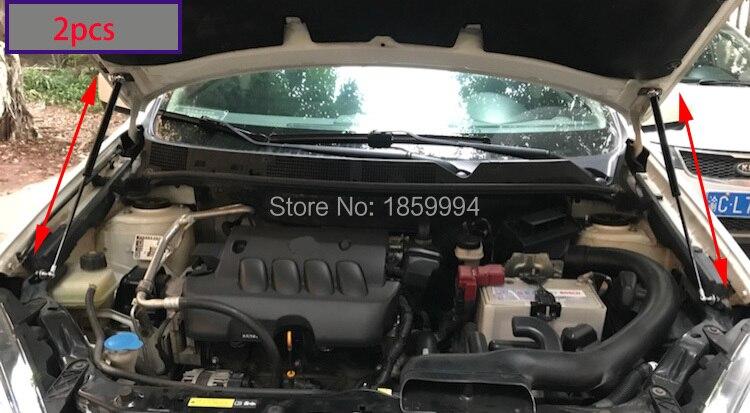 POUR 2009-2013 Nissan QASHQAI J10 VOYOUS BONNET CAPOT GAZ SHOCK STRUT ASCENSEUR SOUTIEN