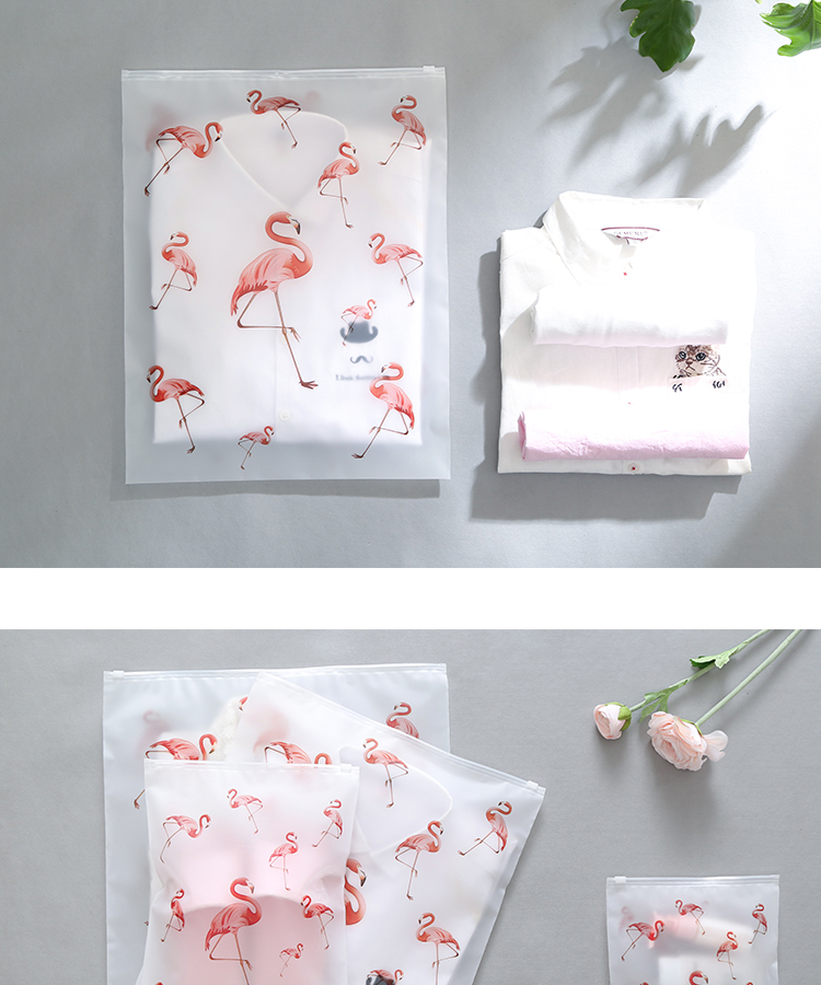 Soomile-Transparent-multi-purpose-waterproof-sealed-travel-bag-Flamingo-EVA-Travel-Organizer-Clothes-and-shoes-sorting-bags-NEW_06
