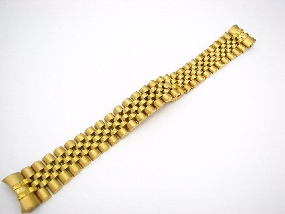 CARLYWET 20mm Steel Gold Dvoubarevný pásek na pásek Pevné - Příslušenství k hodinkám - Fotografie 5