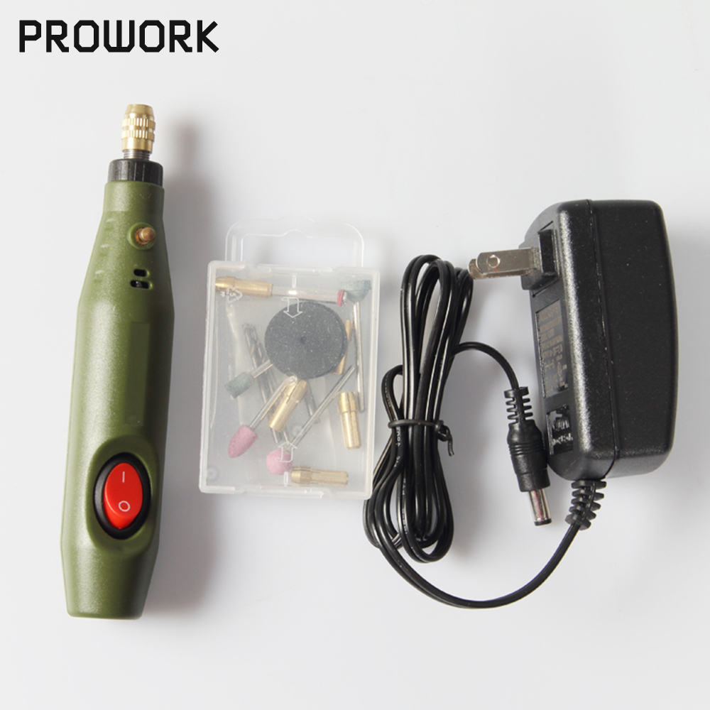 Dremel DIY Electric Hand Drill Machine Micro Mini Rectifier Mini Power Drill Electric Power Tools Mini Drill Grinder Accessories
