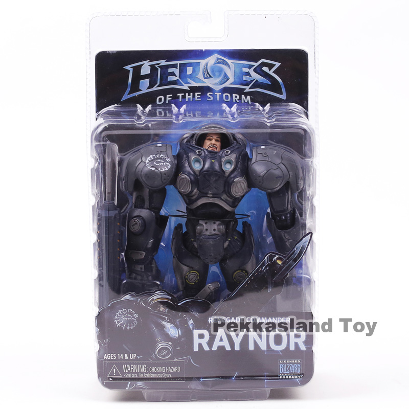 Heroes of the Storm Series 3 Renegade Commander Raynor NECA Action Figure Collectible Model Toy 17cm
