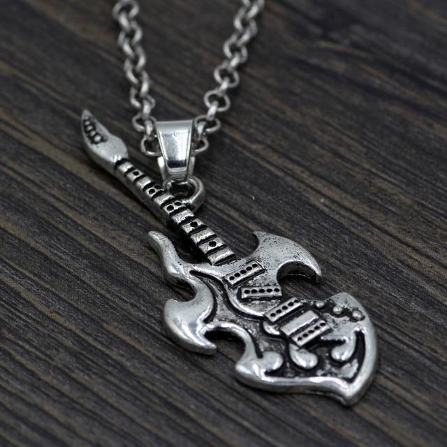 Youe Shone Guitar Necklace...