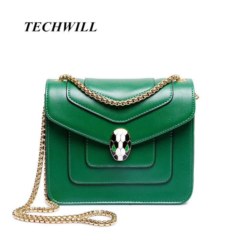 Personality Snake Lock Decoration Women handbag 2017 Big Luxury Evening Party Clutch Women s Leather Bag