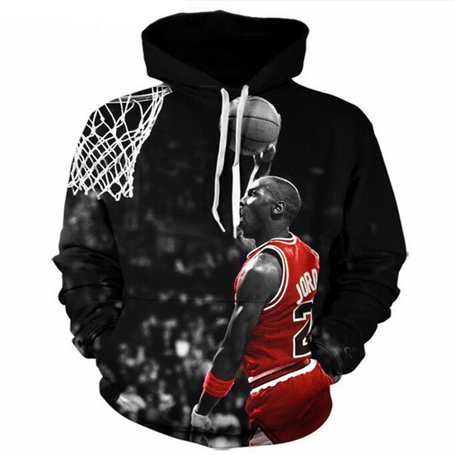LIASOSO Men women s Harajuku Fashion Jordan Hoodies Men 3D Print Painting  Hoodie Sweatshirt Men s Sweatshirts Casual Pullovers e3b798ebd1