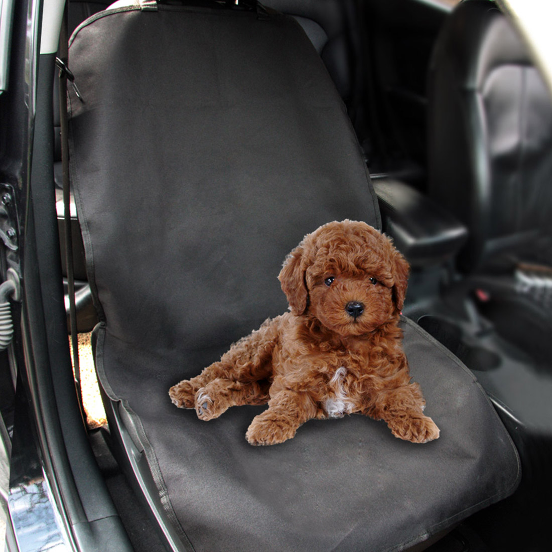 Dewtreetali Waterproof Car Seat Cushion Pet Mat Blanket Universal Car Seat Protector Dog Front Seat Cover Black Car Styling