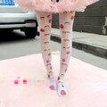 Princesa doce meia-calça lolita É uma irmã macio bonito de impressão dos desenhos animados meia-calça LKW205