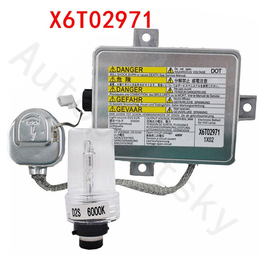 Free Shipping X6T02971 Full Xenon Ballast HID Headlight Unit Igniter Bulb For Acura TL TL S
