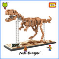 Mr.Froger LOZ Tyrannosaurus Rex Diamond Block Creator Series Dinosaur King Fossil T-Rex Building Blocks Classic Toys Children