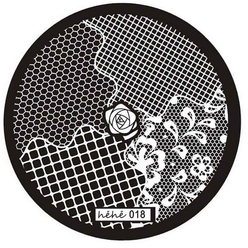 New Hehe Series Nail Art Image Stamp Stamping Plates Manicure Template for wome nail art #0306 a A