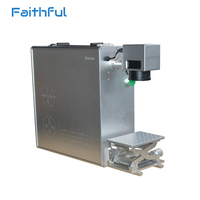 30W Warranty Portable Fiber Laser Marking Machine For Metal Engraving And Non Metal Engraving