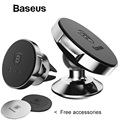 Baseus Magnetic Car Holder For Phone Universal Holder Mobile Cell Phone Holder Stand For Car Air Vent Mount GPS Car Phone Holder