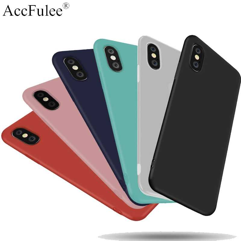 Ultra Thin Matte TPU Siliconen Frosted Matte Case voor iPhone 4S 5S SE 6 6S 7 8 plus X XR XS Max Soft Candy Matte Cover Tassen