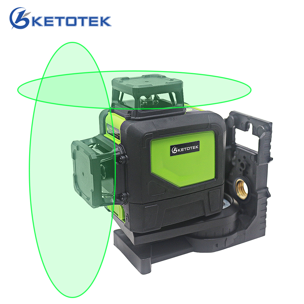 KT902C 8 lines laser level 360 Self-leveling 3D Laser Level Vertical and Horizontal Cross Super Powerful Red Green Laser Beam new professional 12 lines 3d 93t laser level self leveling 360 horizontal and vertical cross super powerful red laser beam line