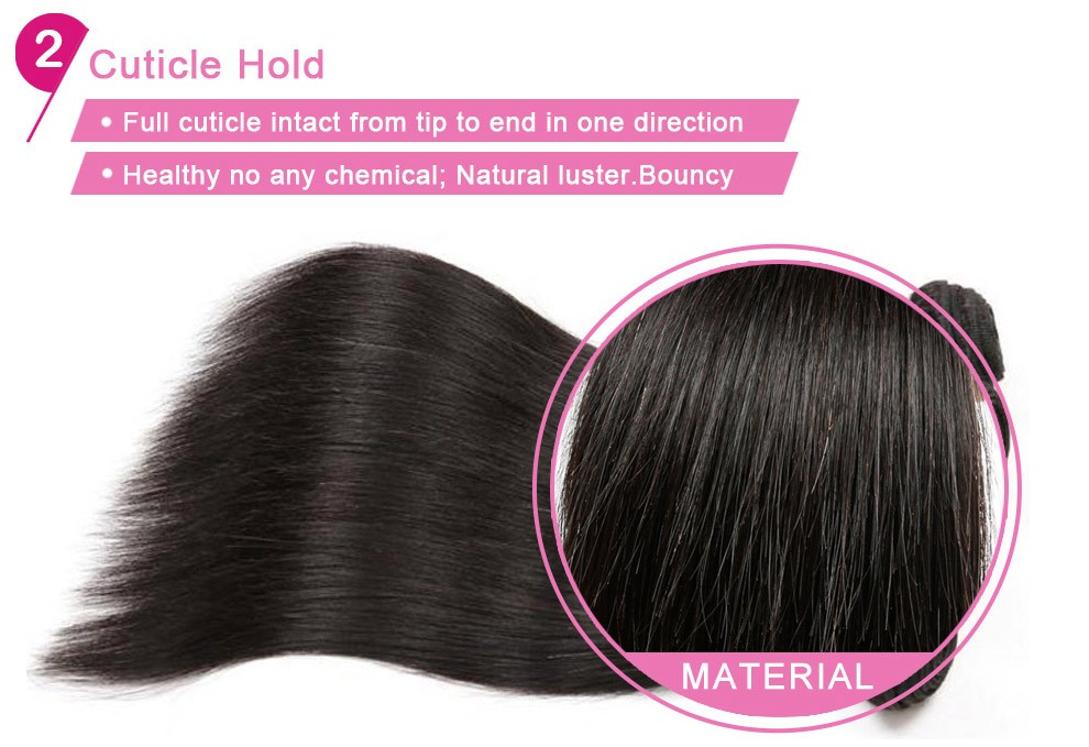 Lace Frontal Closure With Bundles Brazilian Virgin Hair Straight 3 Pcs With Closure Ear to Ear Lace Frontal Closure With Bundles (8)