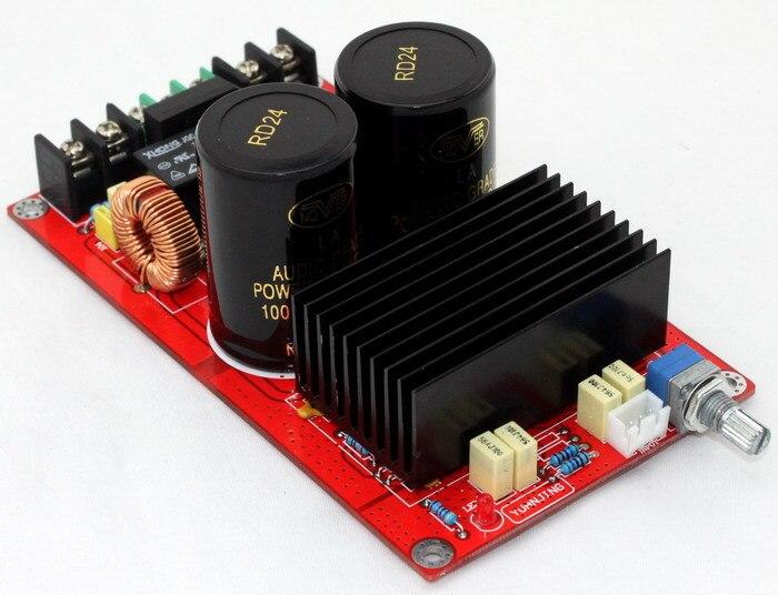 AC18V to AC24V 2 * 120W TDA8950 amplifier board ( UPC1237 speaker protection circuit ), цена