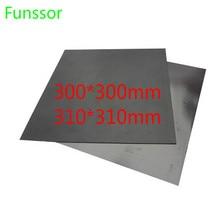 300×300 мм Магнитная Клейкая Лента печатная наклейка Гибкая Пластина для Reprap Prusa Mendel/AO creality CR-10/Торнадо 3D принтер