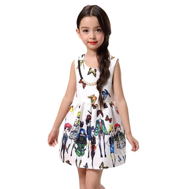 625d9e3e8 2-7 T Milán creaciones vestido mariposa bebé niños vestidos para niñas  princesa vestido niñas