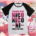 Love Live Yazawa Nico Smile For you cotton lolita mens womens TSHIRT words Hero logo tshirt shirt tee