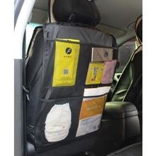 60*46 см детская безопасная автомобильная сумка для хранения на спинку сиденья Органайзер высокой емкости Защитная крышка защита от детей Детские аксессуары для автомобиля