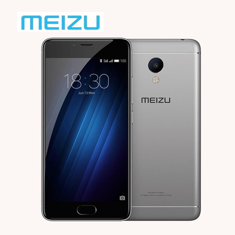 "Original Meizu M3s 2GB 16GB MTK MT6750 Octa Core Cell Phone Metal Body Fingerprint ID 5.0"" Screen 13.0MP OTA Update Y685C"