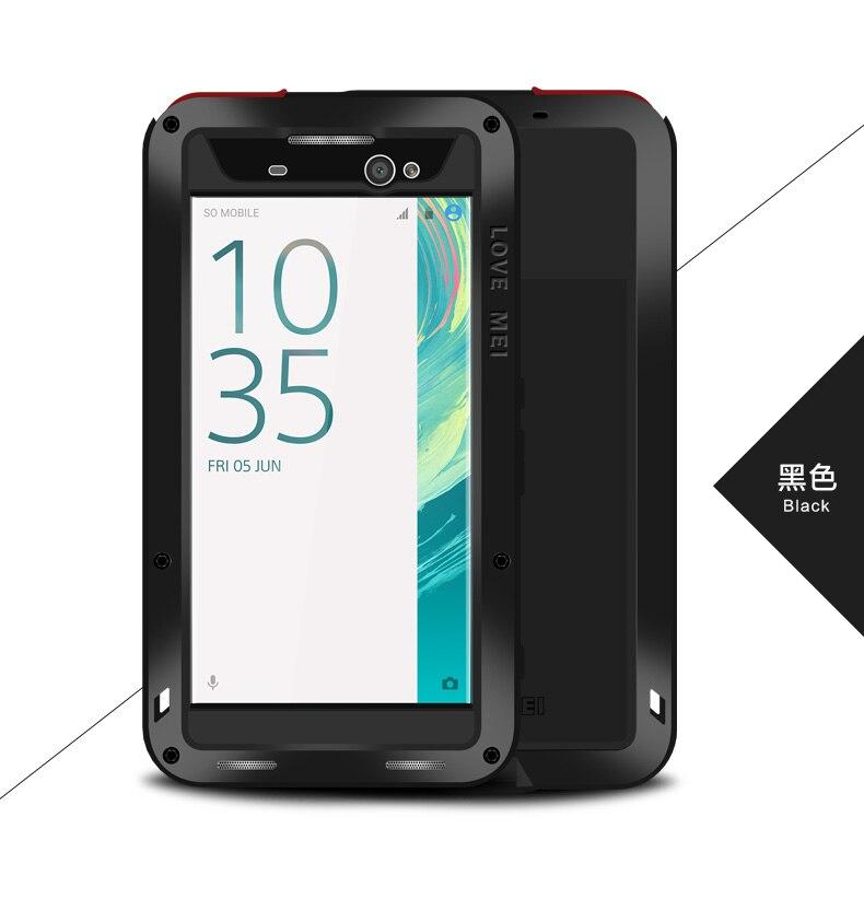 ୧ʕ ʔ୨Amor original Mei caso potente para Sony Xperia XA ultra 6 ...