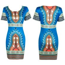 Fashion Dashiki 2016 Summer Women Plus Size African Clothing Folk Tranditional African Clothing African Print Dashiki Dresses
