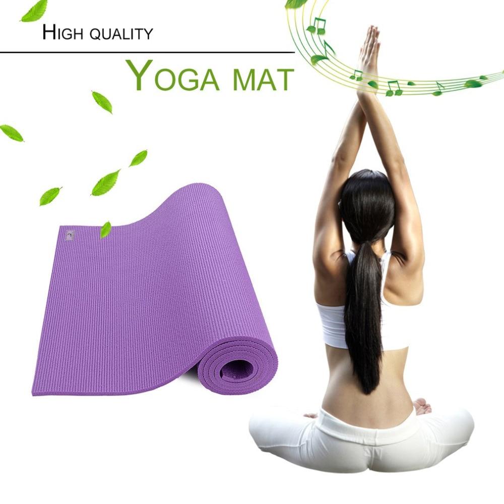 PIERYOGA EVA Yoga Mat Lose Weight Exercise Pad Thick Non