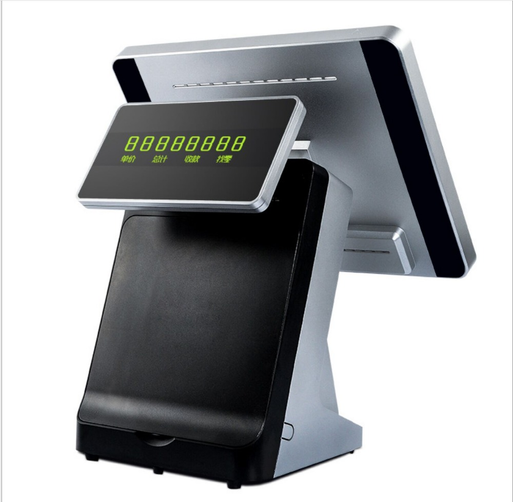 15 Inch Touch Screen Pos Computer Cash Register /POS System/ Epos For Supermarket