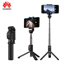 Huawei AF15 Selfie Stick Tripod Portable Nirkabel Bluetooth3.0 Monopod untuk IOS Android Huawei iPhone X 8 Samsung S9 Smartphone(China)