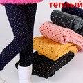 2016 Meninas Do Bebê Inverno Leggings Espessamento de Lã Quente Crianças Leggings para As Meninas Da Menina Da Criança Legging Calças Da Menina Crianças 2 T-10 T