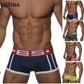 High quality brand men Underwear boxer Sexy cotton Cueca Boxers mens boxer shorts Gay Underwear Man male boy underpant slip