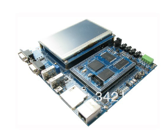 Livraison gratuite!!! Carte de développement LPC4357 réseau usb haute vitesse 204 MHz M4 M0 processeur double coeur avec 4.3 lcd