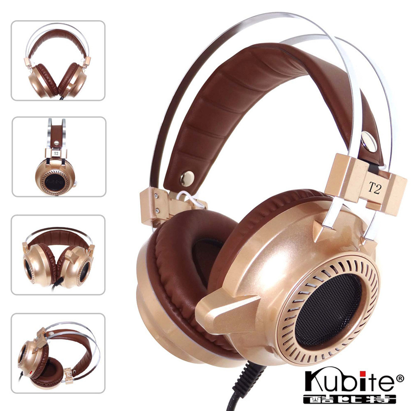 Surround Stereo Bass Gaming Headset Stirnband Kopfhörer <font><b>T2</b></font> gaming headset noise cancelling USB 3.5mm LED mit Mic für PC S30 image