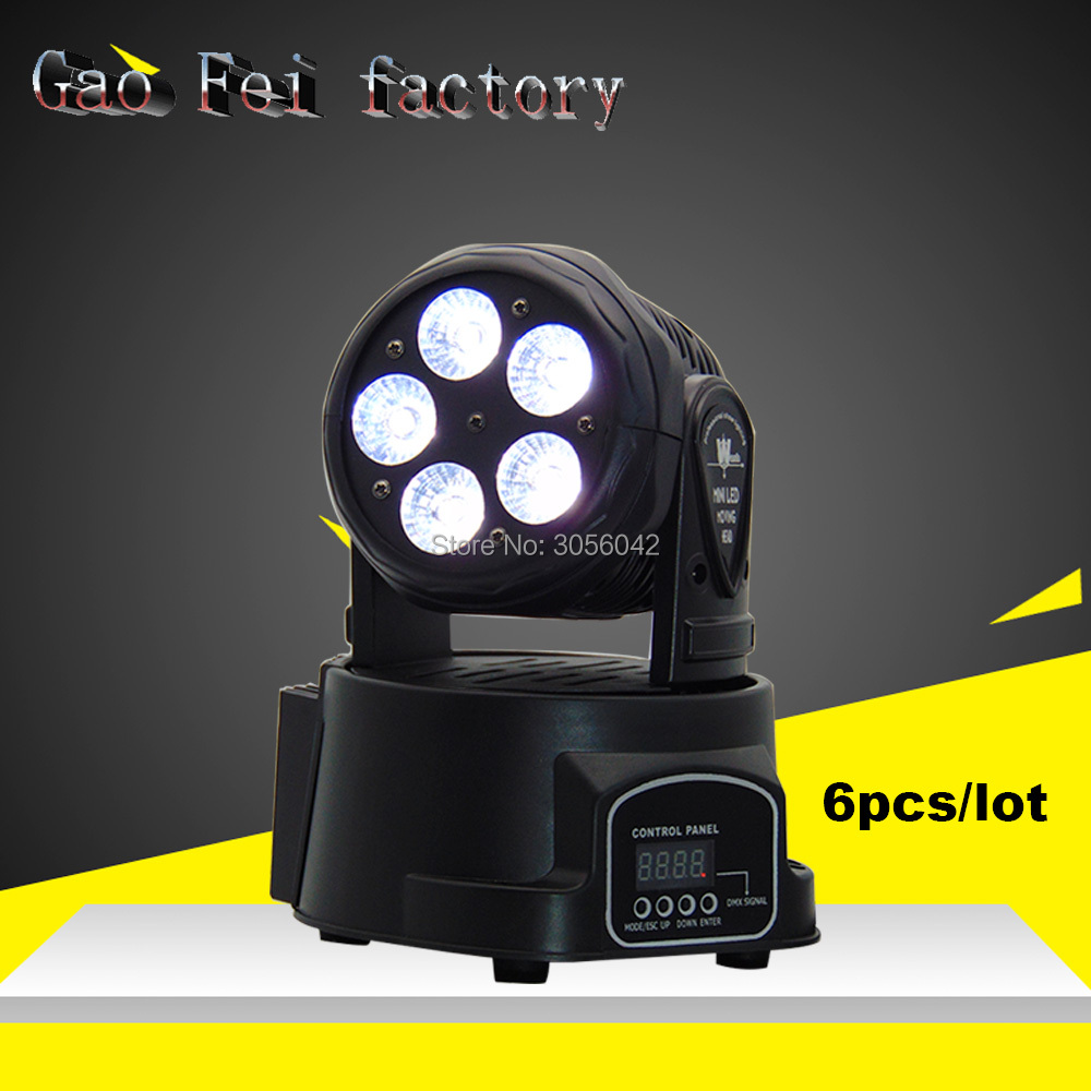 6pcs/lot Hot Sale RGBWA+UV 6in1 Moving Head Lights 5x15W Led Wash Moving Head Light 10/15 Channels DMX 512 Stage Lighting Effect 6pcs lot white color 132w sharpy osram 2r beam moving head dj lighting dmx 512 stage light for party