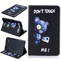 Painting Magnetic Stand Flip Pu Leather Case For Samsung Galaxy Tab E 9.6 T560 T561 Tablet Pc Case Back Cover With Card Slots